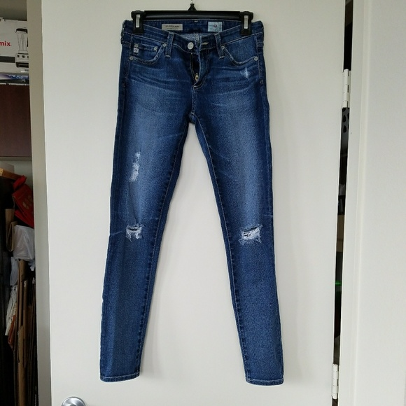 2f80340f6df45c Ag Adriano Goldschmied Denim - AG, 25R The Legging Ankle Jean, 11 Year Swap